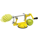 Avanti Apple Peeler, Corer & Slicer Yellow