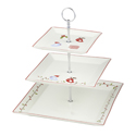 Christmas Tweets 3 Tier Cake Stand