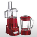 Cuisinart Blender & Food Processor Combo 1.4L Metallic Red