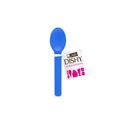 Dishy Ice Cream Spoon 10pk Blue