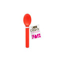 Dishy Ice Cream Spoon 10pk Red