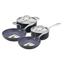 GreenPan Stockholm 4pc Cookware Set