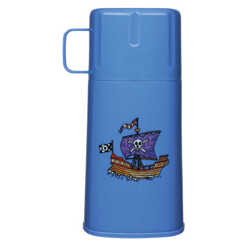 kids drink flask pirates life image. jpg.