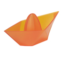 Koziol Ahoi Citrus Squeezer - Orange