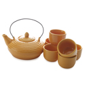 Maxwell & Williams Jozo Jap Tea Set 7pc Orange