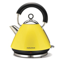 Morphy Richards Accents Kettle Traditional Lemon Yellow