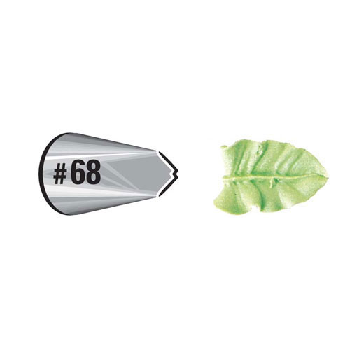 Wilton Cake Decorating Tip - Leaf 68