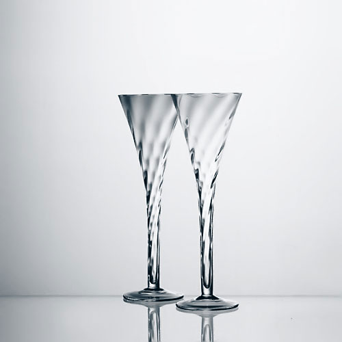 This item is no longer available - Champagne flutes hollow stem ...