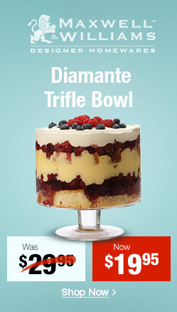Diamante Footed Trifle